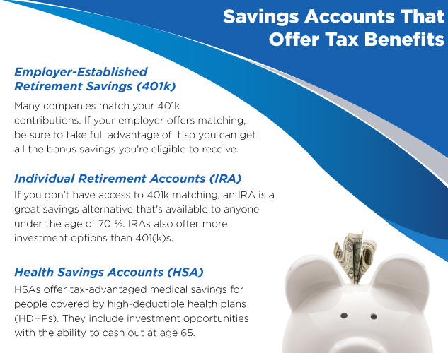savings accounts that offer tax benefits image
