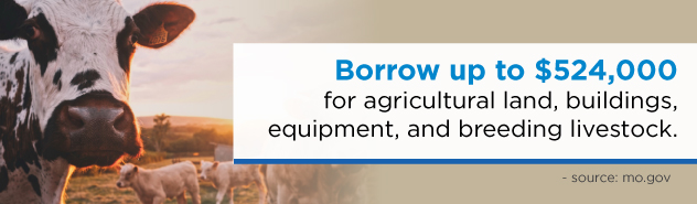 agriculture loan borrowing banner
